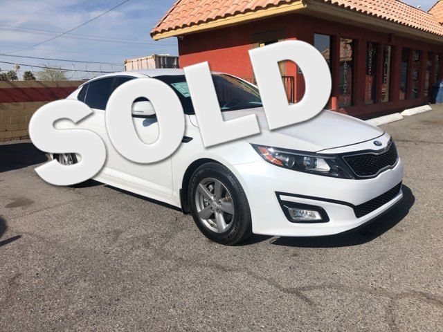 2015 Kia Optima LX CAR PROS AUTO CENTER (702) 405-9905 Las Vegas, Nevada