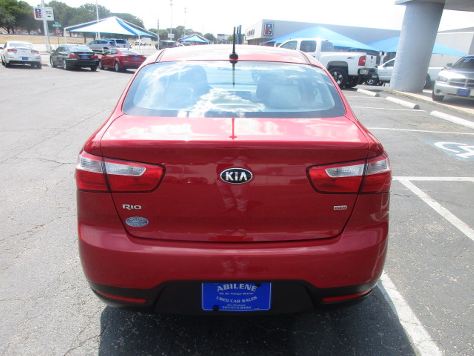 2015 kia rio lx abilene tx abilene used car sales. Black Bedroom Furniture Sets. Home Design Ideas