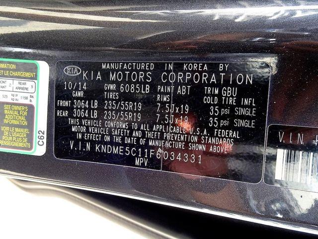 2015 Kia Sedona SX-L Madison, NC 58