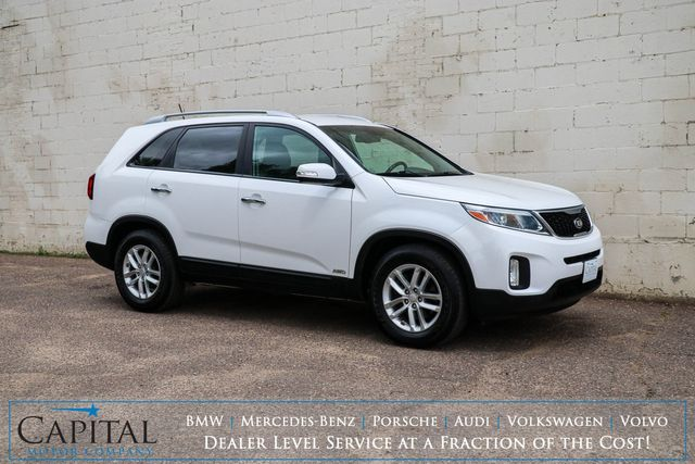 2015 Kia Sorento AWD Crossover with Convenience Package, Backup Cam and Heated Seats