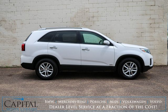 2015 Kia Sorento AWD Crossover with Convenience Package, Backup Cam and Heated Seats in Eau Claire, Wisconsin 54703