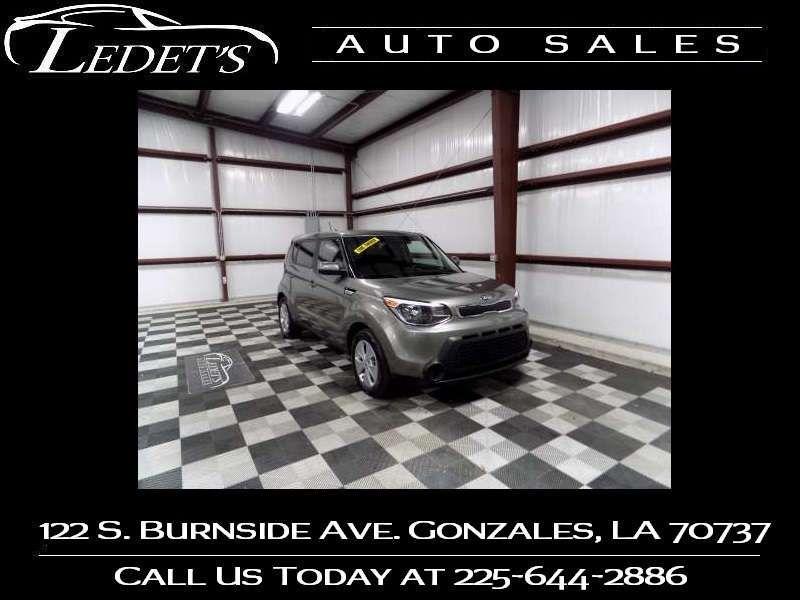 2015 Kia Soul Base - Ledet's Auto Sales Gonzales_state_zip in Gonzales Louisiana
