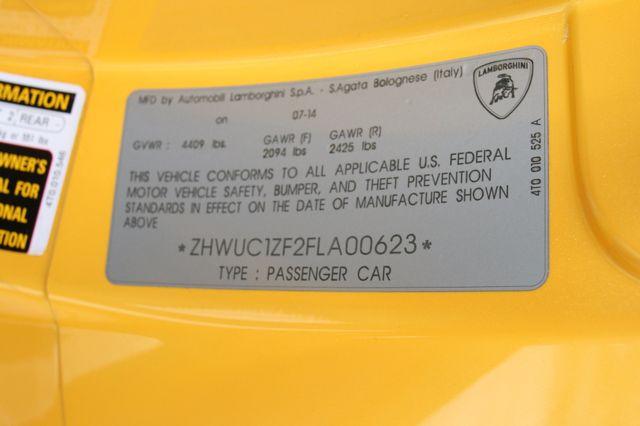 2015 Lamborghini Huracan certified w 2yr extended warr 610AWD Houston, Texas 27