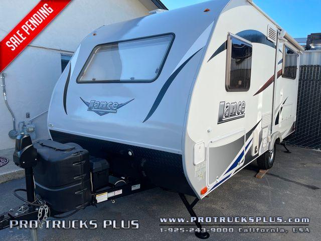 2015 Lance 1575 Travel trailer