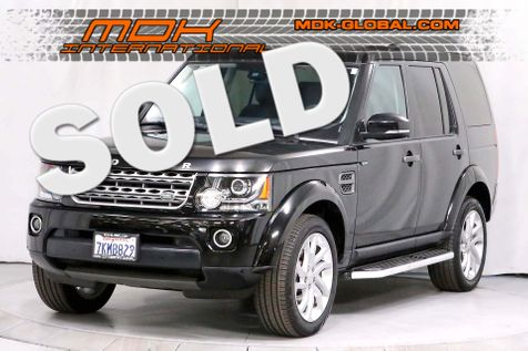 2015 Land Rover LR4 HSE - 3rd row seats - Service records in Los Angeles