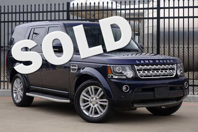 2015 Land Rover LR4 LUX * Vision Assist * NAV * Triple Roofs * KEYLESS Plano, Texas