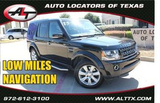 2015 Land Rover LR4 HSE in Plano, TX 75093