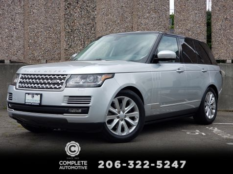 2015 Land Rover Range Rover 3.0L V6 Supercharged HSE Factory Warranty to 11/09/19 1 Owner Local History in Seattle