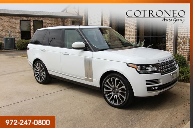 2015 Land Rover Range Rover Autobiography in Addison, TX 75001