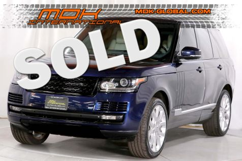 2015 Land Rover Range Rover HSE - Heavily optioned - Original MSRP of $102K in Los Angeles