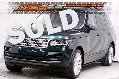 2015 Land Rover Range Rover Supercharged - LWB - Original MSRP of $122880 in Los Angeles