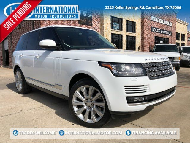 2015 Land Rover Range Rover Supercharged ONE OWNER