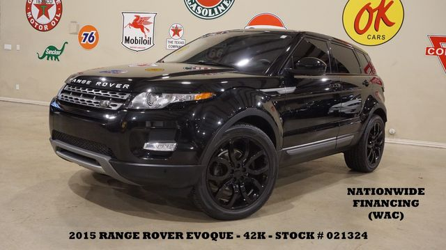 2015 Land Rover Range Rover Evoque Pure Plus PANO ROOF,NAV,HTD LTH,42K in Carrollton TX, 75006