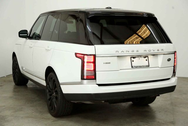 2015 Land Rover Range Rover HSE Houston, Texas 9