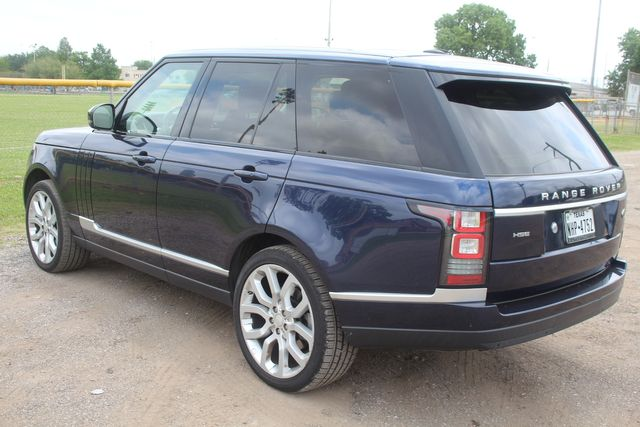 2015 Land Rover Range Rover HSE Houston, Texas 10
