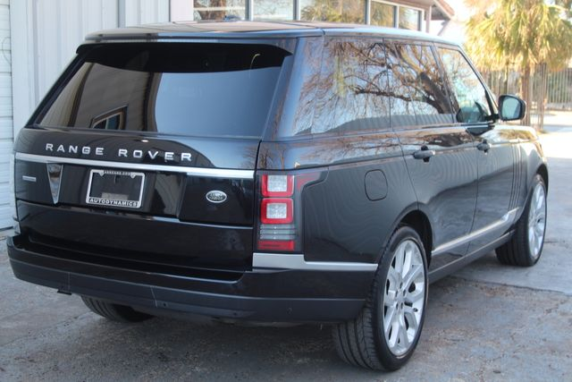 2015 Land Rover Range Rover Supercharged Houston, Texas 10
