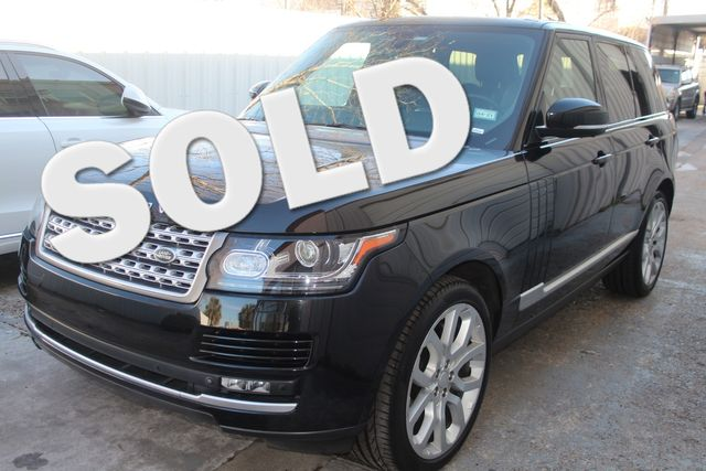 2015 Land Rover Range Rover Supercharged Houston, Texas 0