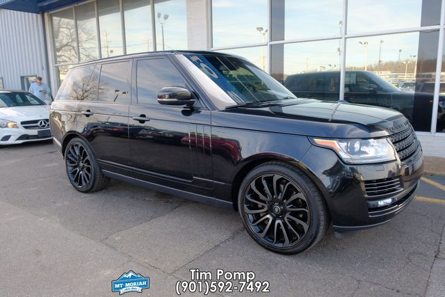 2015 Land Rover Range Rover Supercharged REAR DVD IN HEADREST