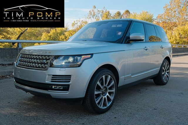 2015 Land Rover Range Rover Autobiography w/REAR DVD IN HEADREST