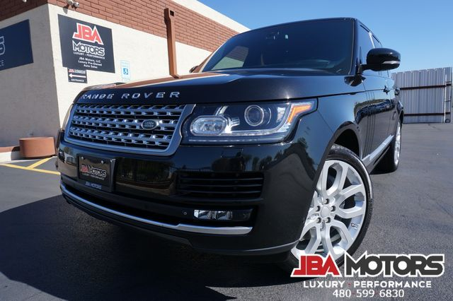 2015 Land Rover Range Rover Supercharged V8 SC SUV Full Size 4WD 1 Owner Car