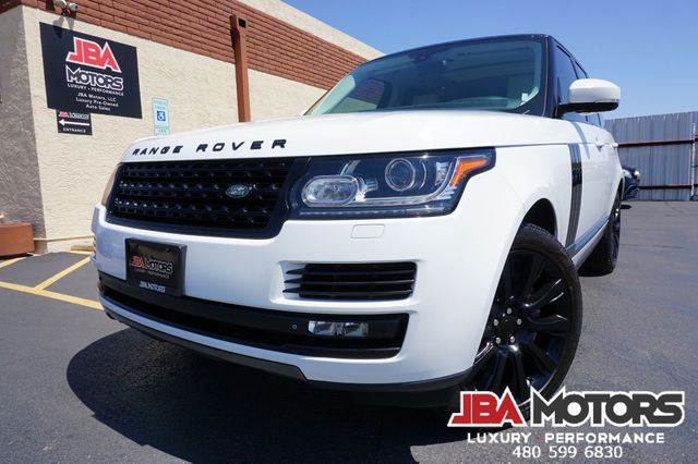 2015 Land Rover Range Rover Supercharged Full Size 4WD SUV