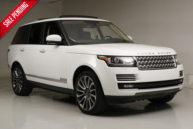 2015 Land Rover Range Rover Autobiography* 22'S* Supercharged* One Owner*** | Plano, TX | Carrick's Autos in Plano TX