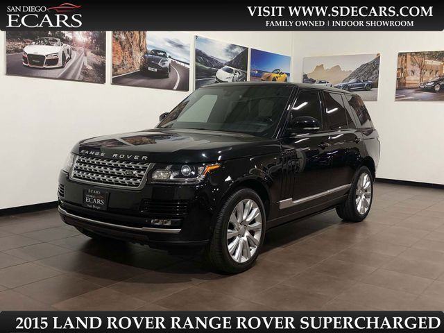 2015 Land Rover Range Rover Supercharged in San Diego, CA 92126