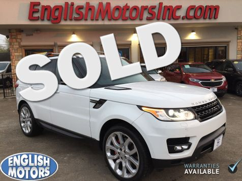 2015 Land Rover Range Rover Sport Supercharged in Brownsville, TX