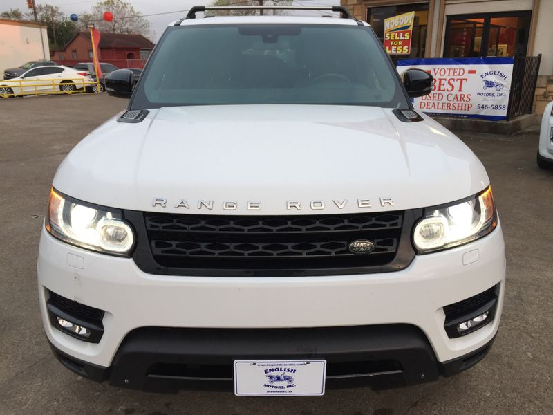 2015 Land Rover Range Rover Sport Supercharged  Brownsville TX  English Motors  in Brownsville, TX