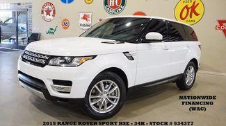 2015 Land Rover Range Rover Sport HSE PANO ROOF,NAV,REAR DVD,HTD/COOL LTH,34K! in Carrollton TX, 75006