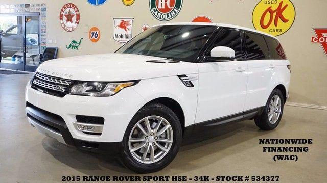2015 Land Rover Range Rover Sport HSE PANO ROOF,NAV,REAR DVD,HTD/COOL LTH,34K!