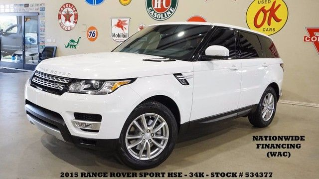 2015 Land Rover Range Rover Sport HSE PANO ROOF,NAV,REAR DVD,HTD/COOL LTH,34K!