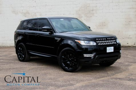 2015 Land Rover Range Rover Sport HSE 4x4 Luxury SUV Navigation 360º Cameras Panoramic Roof & 20