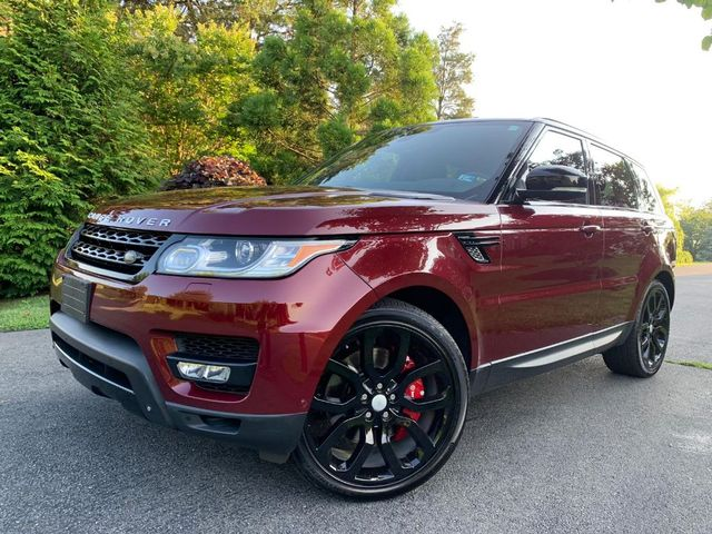 2015 Land Rover Range Rover Sport Supercharged / ONE OWNER