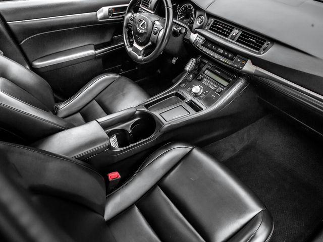 2015 Lexus CT 200h Hybrid Burbank, CA 12
