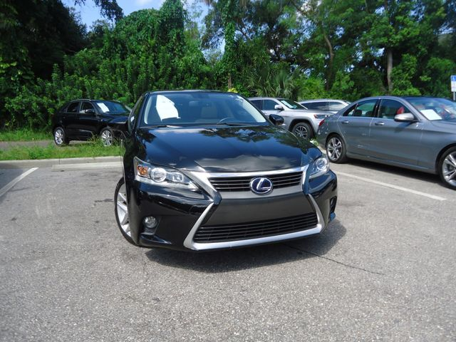 2015 Lexus CT 200h Hybrid SEFFNER, Florida 9