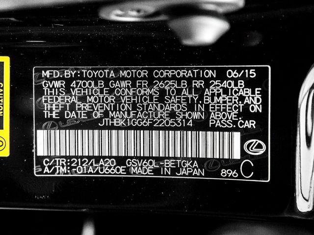 2015 Lexus ES 350 Burbank, CA 27