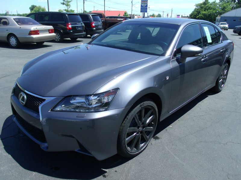 2015 Lexus GS 350 AWD F-Sport! Red Line Interior,Navigation, Loaded | Rishe's Import Center in Ogdensburg New York