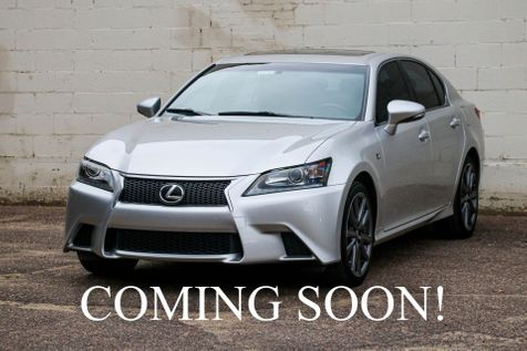2015 Lexus GS350 AWD with F-Sport Pkg, Navigation, Backup Cam, Heated/Cooled Seats & 19