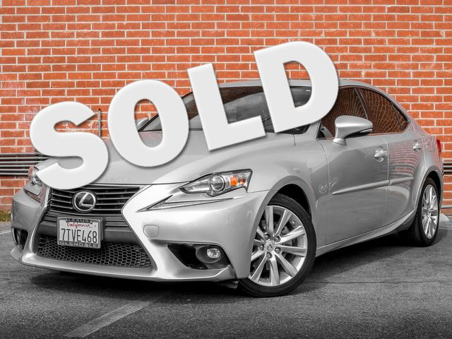 2015 Lexus IS 250 Burbank, CA 0