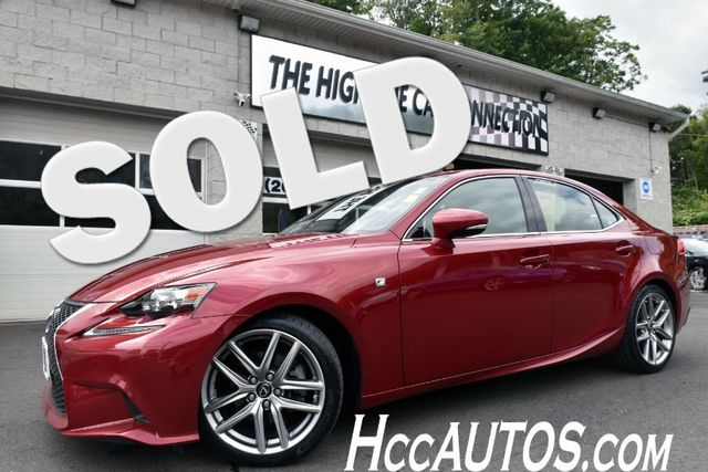 2015 Lexus IS 250 4dr Sport Sdn AWD Waterbury, Connecticut