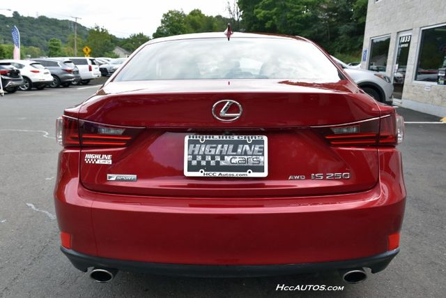 2015 Lexus IS 250 4dr Sport Sdn AWD Waterbury, Connecticut 7