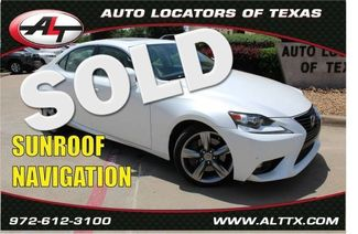 2015 Lexus IS 350     Plano, TX   Consign My Vehicle in  TX