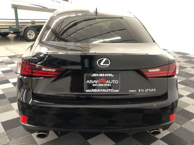 2015 Lexus IS 250 AWD LINDON, UT 4