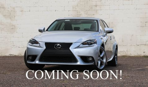 2015 Lexus IS350 AWD Executive Sports Car w/Navigation, Back Cam, Heated/Cooled Seats and Blind Spot Monitor in Eau Claire