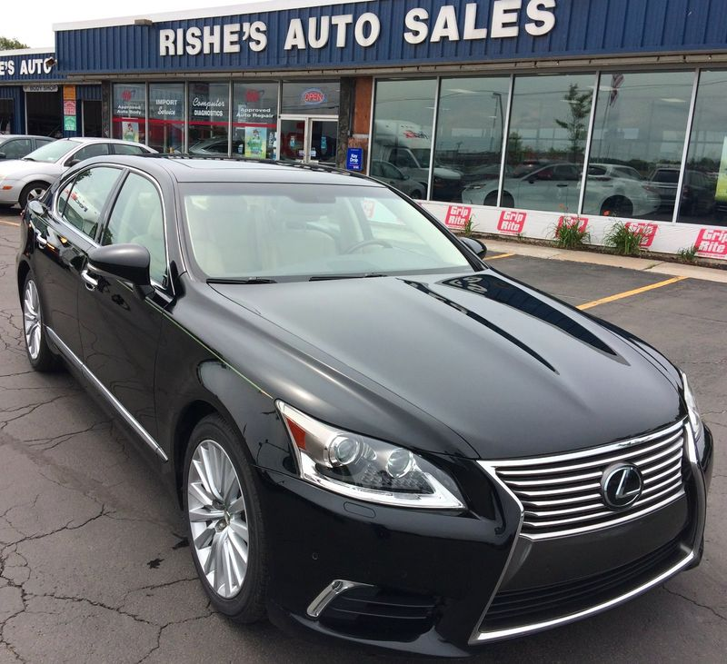 2015 Lexus LS 460 L AWD w/Levinson sound / adaptive cruise | Rishe's Import Center in Ogdensburg New York