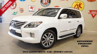 2015 Lexus LX 570 SUNROOF,NAV,F. CAM,REAR DVD,MARK LEVINSON,51K in Carrollton TX, 75006