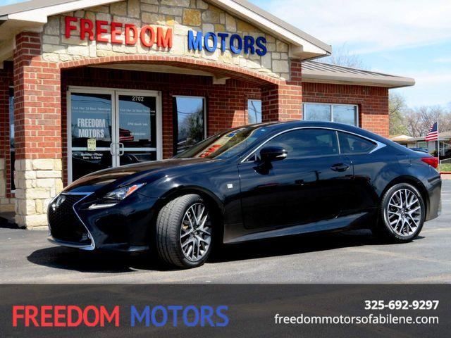 2015 Lexus RC 350 in Abilene,Tx, Texas 79605