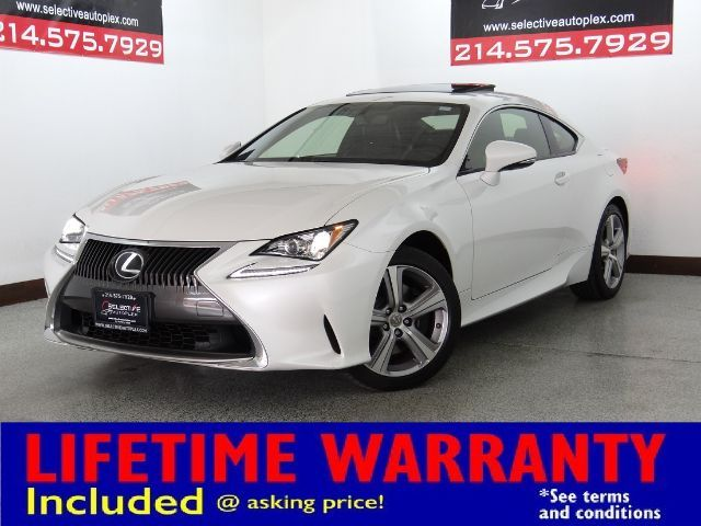 2015 Lexus RC 350 AWD, NAV, SUNROOF, HEATED/COOLED FRONT SEATS