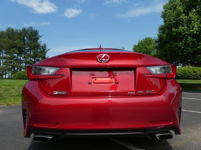 2015 Lexus RC 350 F-SPORT PAKAGE  ALL WHEEL DRIVE Leesburg, Virginia 7